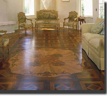 Floor of the Year Winner-NWFA-2001- DECORATIVE FLOORING